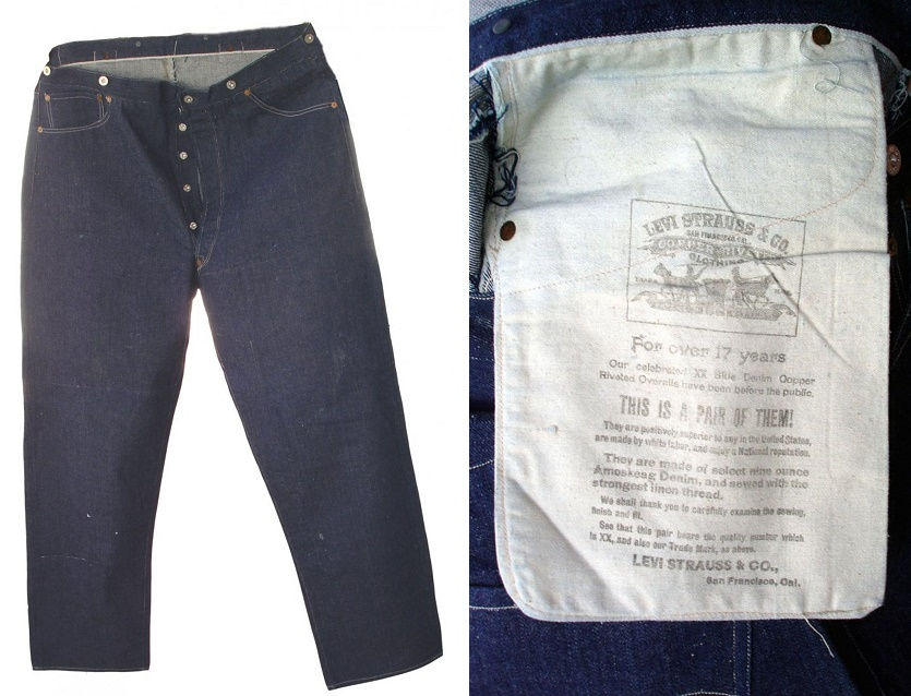 125-year-old Levi jeans