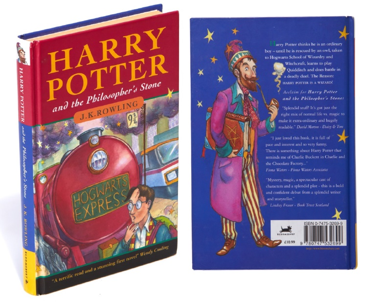 Harry Potter First Edition Sells For New World Record Price