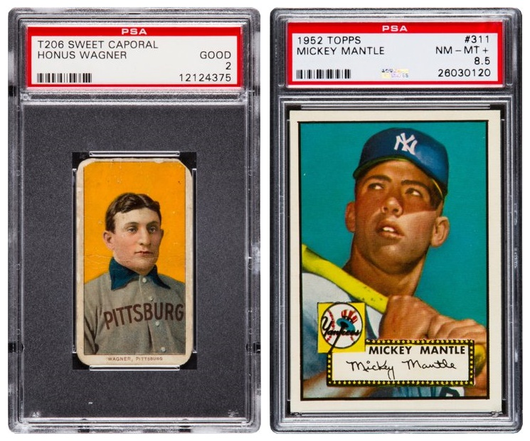 Heritage Auctions Present The Worlds Two Most Iconic Baseball Cards