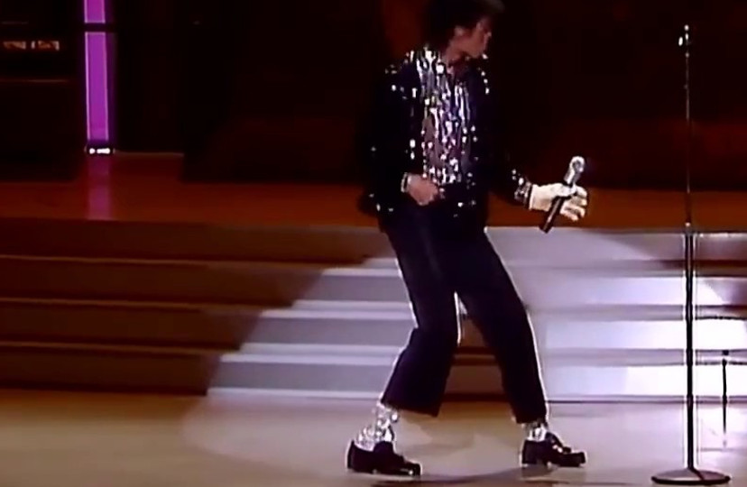 """c6c2996ea6f The black leather loafers Michael Jackson was wearing when he first  performed his iconic """"moonwalk"""" dance onstage are selling at GWS Auctions."""