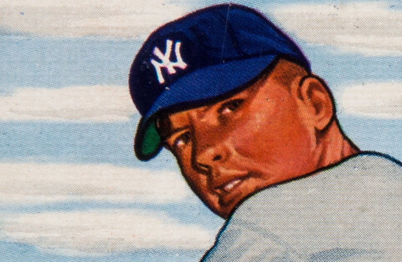 1951 Bowman Mickey Mantle Auctions On April 19 20