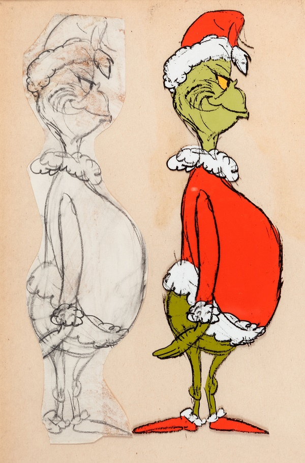 How The Grinch Stole Christmas Cindy Lou Cartoon.Original How The Grinch Stole Christmas Animation Art To