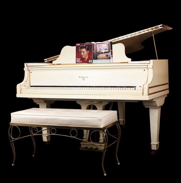Elvis Presley S Graceland Piano Sells For 375 000 On Ebay