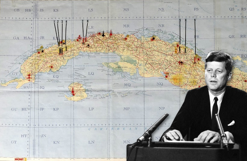 John F  Kennedy's Cuban Missile Crisis map soars at RR Auction