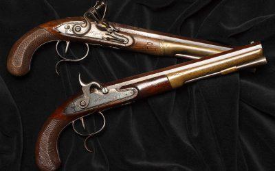 Alexander Hamilton duelling pistols