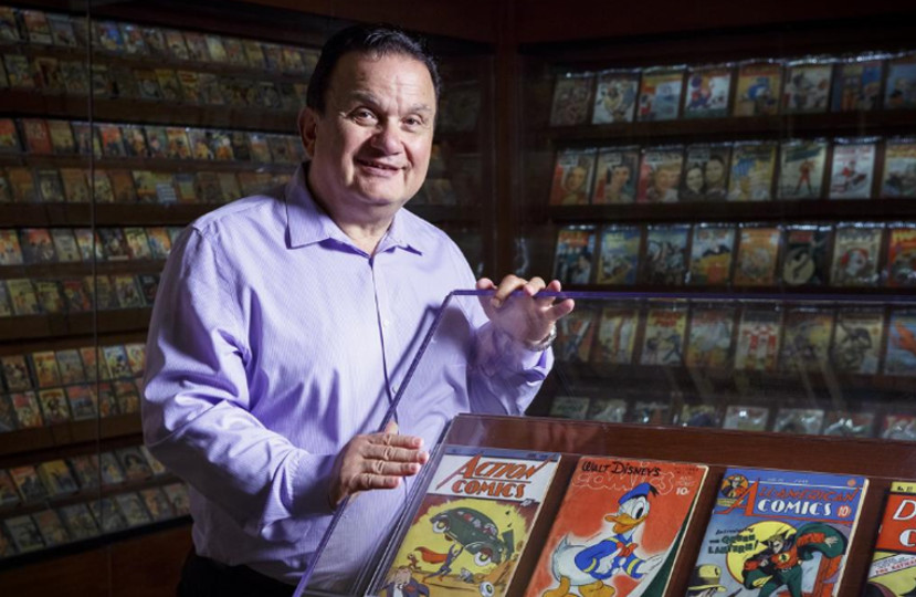 Stephen Geppi Library Congress