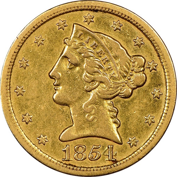 The extremely rare coin is one of only four known examples