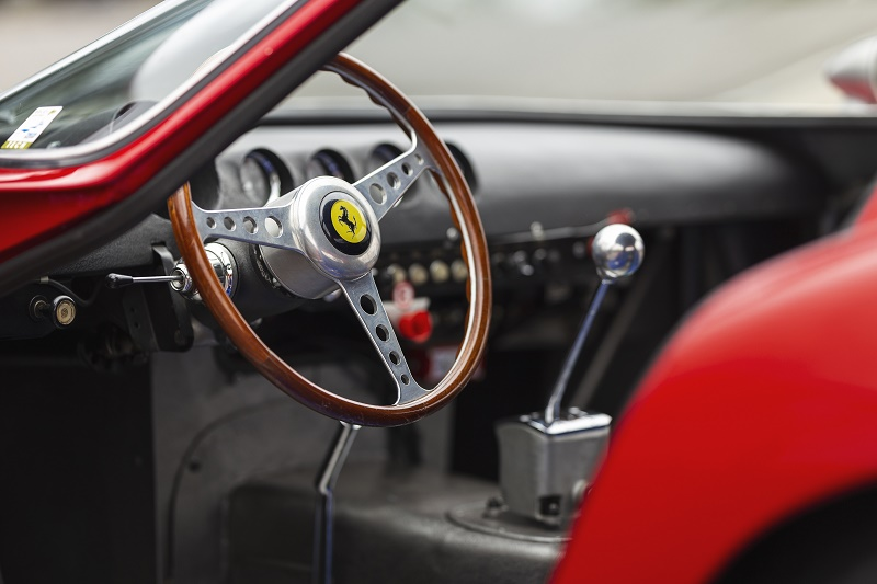 The Ferrai 250 GT remains in remarkably original condition since its days on the track more than 50 years ago