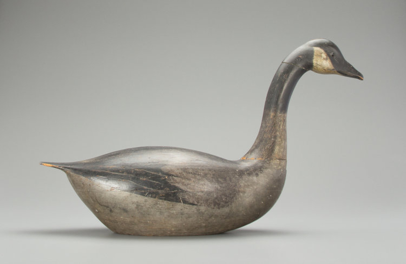 Dovetailed goose Copley's auction