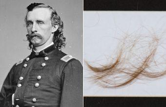 General Custer's hair