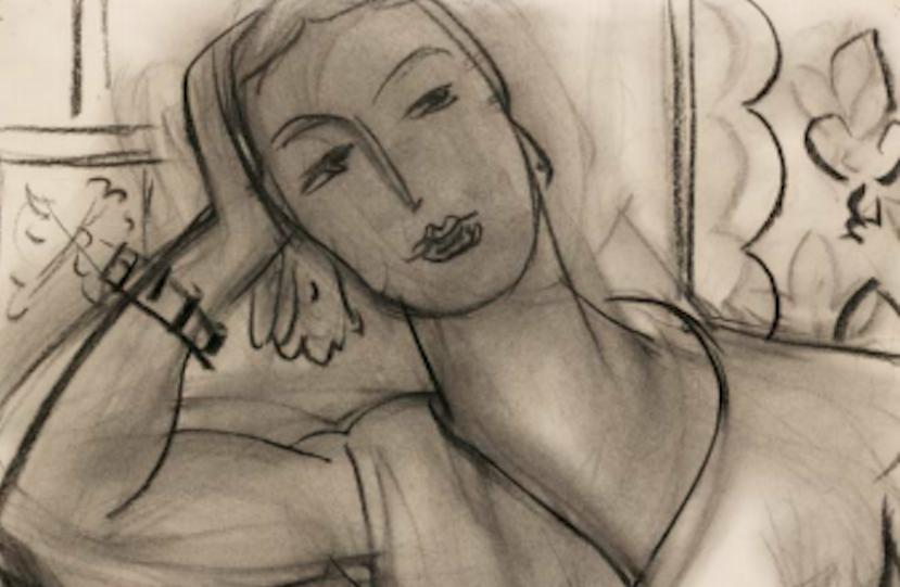 Matisse Mary Hutchinson's portrait