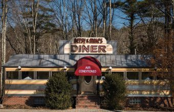 Betsy and Mike's vintage roadside diner
