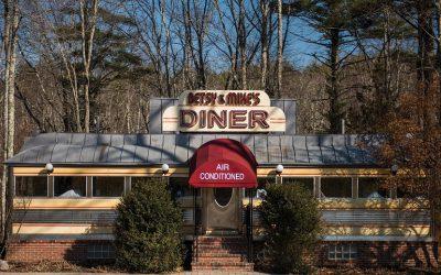 Betsy and Mike's vintage roadside diner