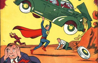 Action Comics #1, featuring the debut of Superman
