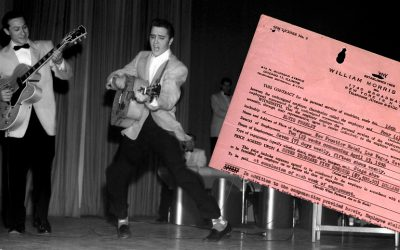Elvis Presley frontier hotel 1956