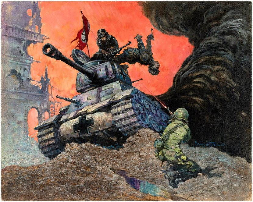 Frank Frazetta Original Paitnings