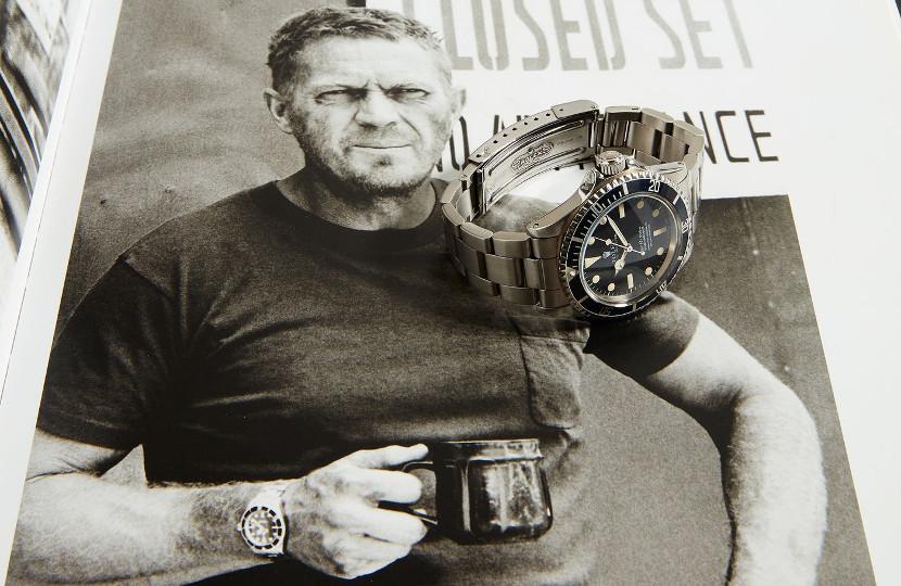 Steve McQueen Rolex Submariner watch