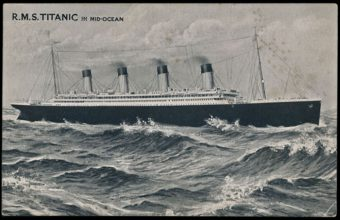 Titanic Postcard Auction