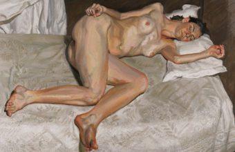 Lucian Freud Nude Portrait