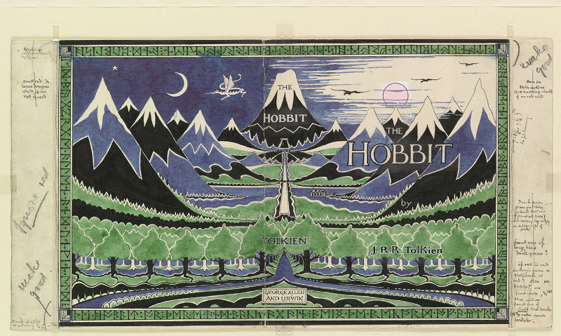 JRR Tolkien Hobbit
