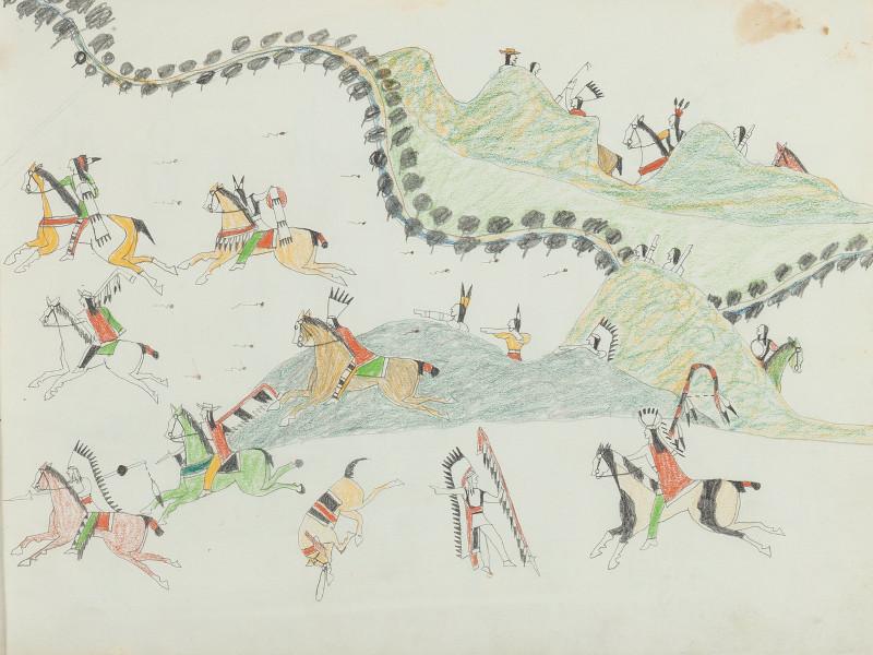 Native American Kiowa Sketchbook