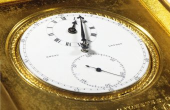 Admiral Nelson's pocket watch, used during the Battle of Trafalgar in 1805