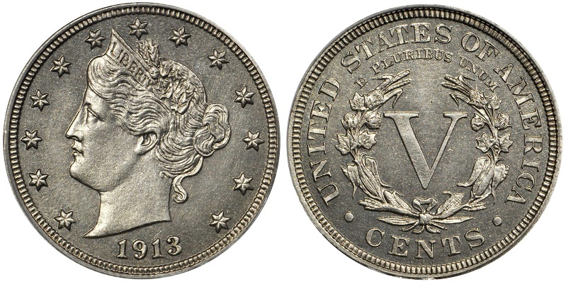 The Eliasberg specimen of the 1913 Liberty Head nickel