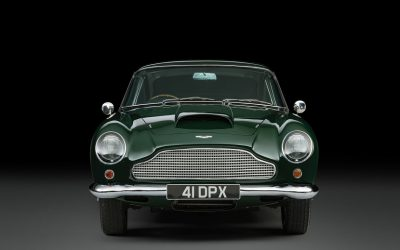 The Aston Martin DB4GT owned and driven on-screen by legendary British actor Peter Sellers