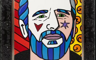 A pop-art portrait from Ringo Starr's memorabilia collection