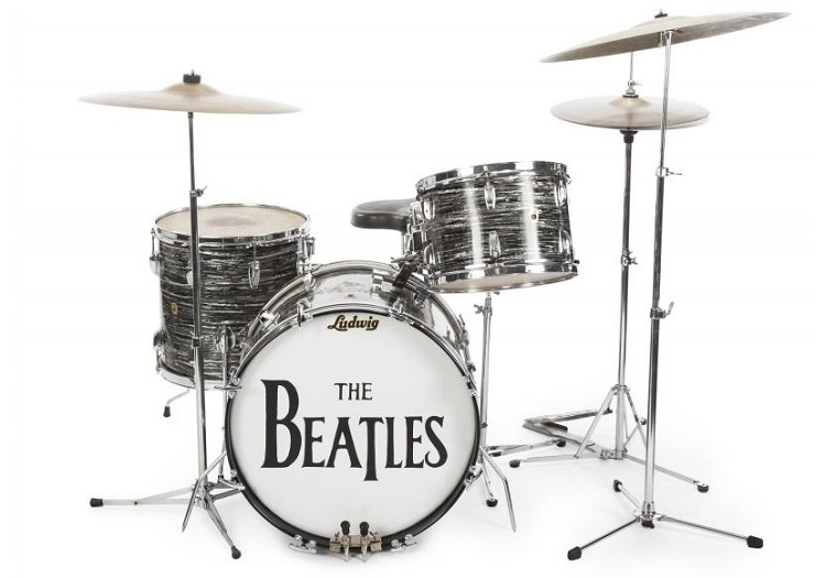 Ringo Starr's drumkit, used during over 200 Beatles shows