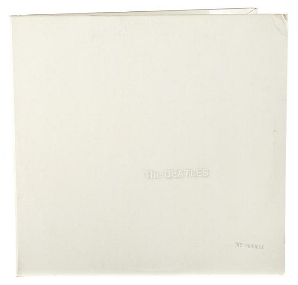 Ringo's personal copy of The White Album, pressing '0000001'