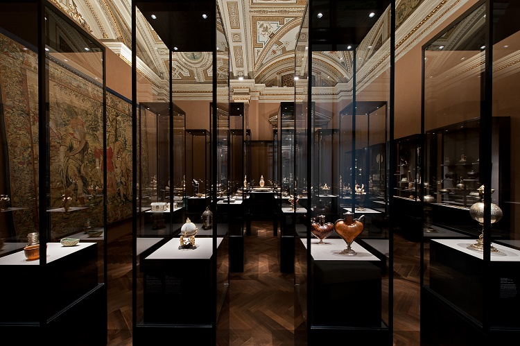 The Kunstkammer (Cabinet of Curiosities) at the Kunsthistorisches Museum