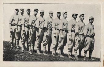 The 1913 All-Nations Baseball Club, America's first multiracial barnstorming team