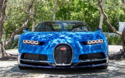 "The Bugatti Chiron, described as ""the most daunting hypercar ever built""."