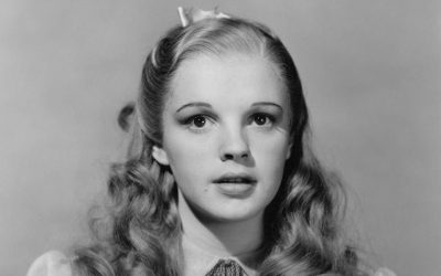 Judy Garland originally wore the blonde wig during the first week of filming on The Wizard of Oz