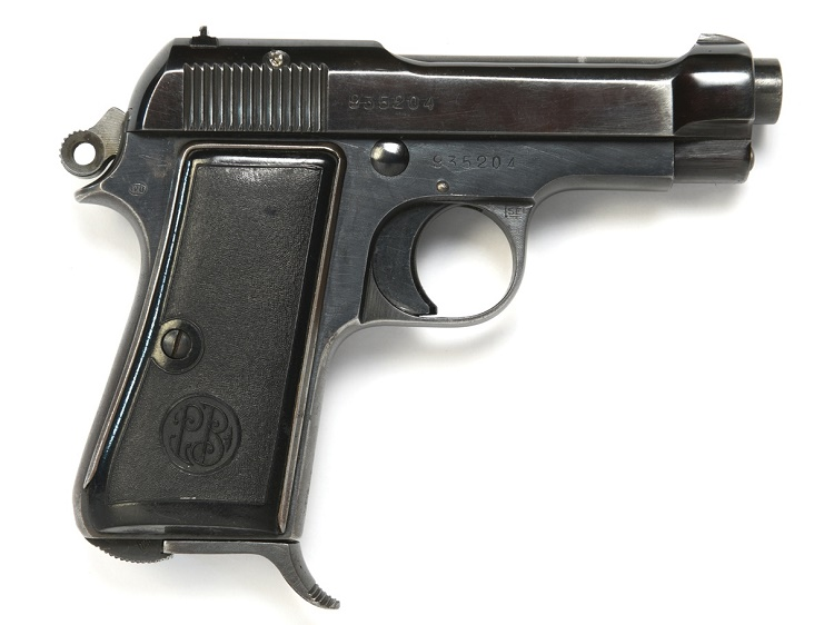 The Beretta pistol given to Elvis by retired U.S Army General Omar Bradley