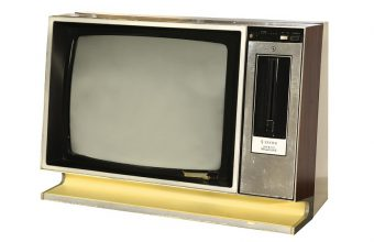 Elvis' TV set that he blasted with a handgun at Graceland