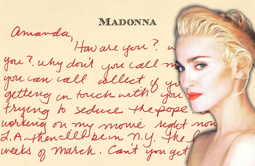 Madonna reportedly pursued the model after she appeared in her Justify My Love music video in 1990