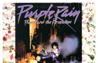 Prince's personal copy of his classic album Purple Rain