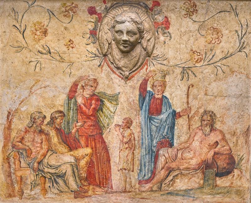 Roman fresco Walpole