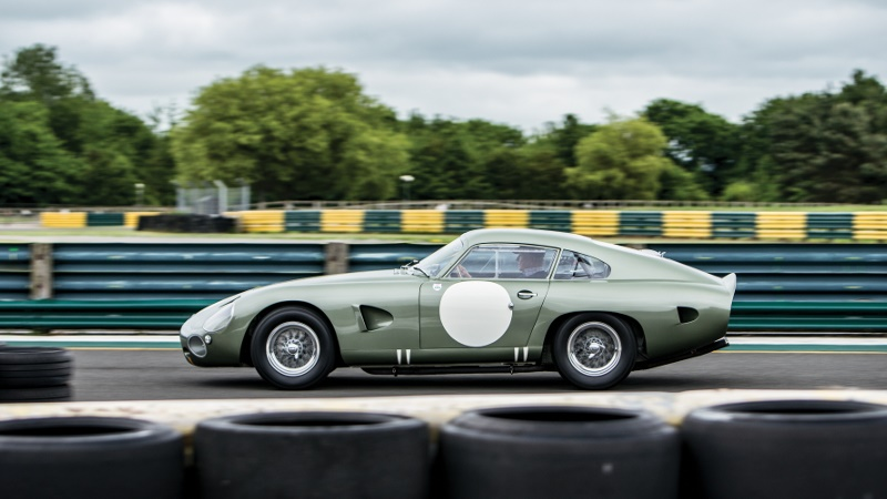 The unique Aston Martin prototype which sold for $21.45 million