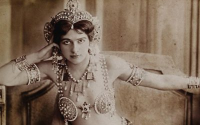 Mata Hari, the famous exotic dancer and courtesan who was executed as a spy in France during WWI
