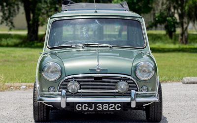 Paul McCartney's 1965 Morris Mini Cooper S DeVille