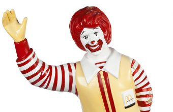 The Heritage Auctions Art of Ronald McDonald and Friends sale takes place in Chicago on September 22
