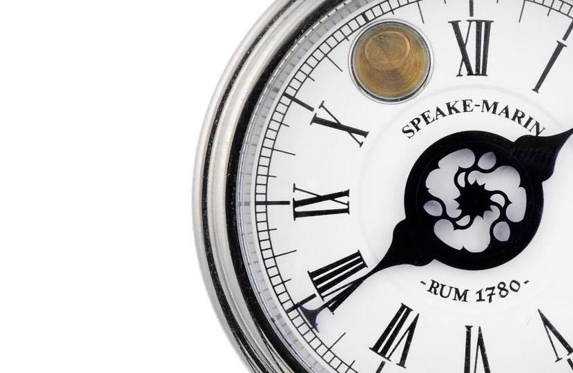 The watch contains a single drop of rum dating back to the 1780s