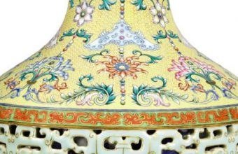 The Yamanaka Reticulated Vase will sell at Sotheby's in Hong Kong on October 3