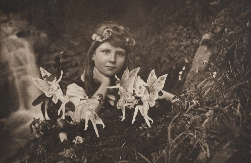 The Cottingley Fairy photographs caused one of the biggest hoaxes of the 20th century