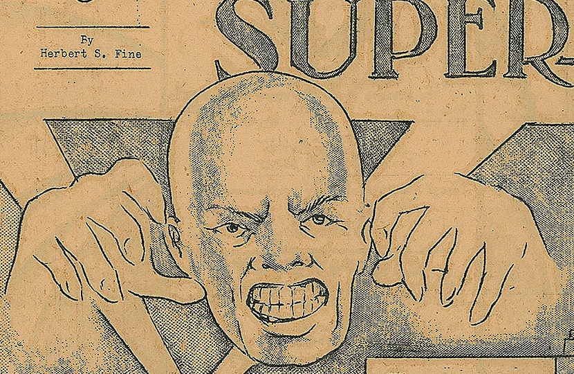 The first incarnation of Superman was a little less heroic than the one we know today