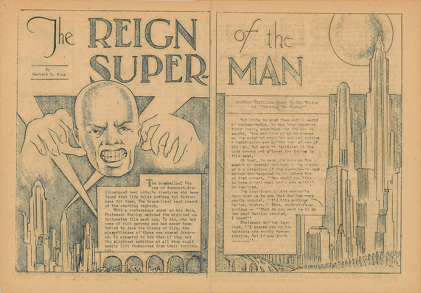 In The Reign of the Superman, the title character was a telepathic villain driven made by his powers
