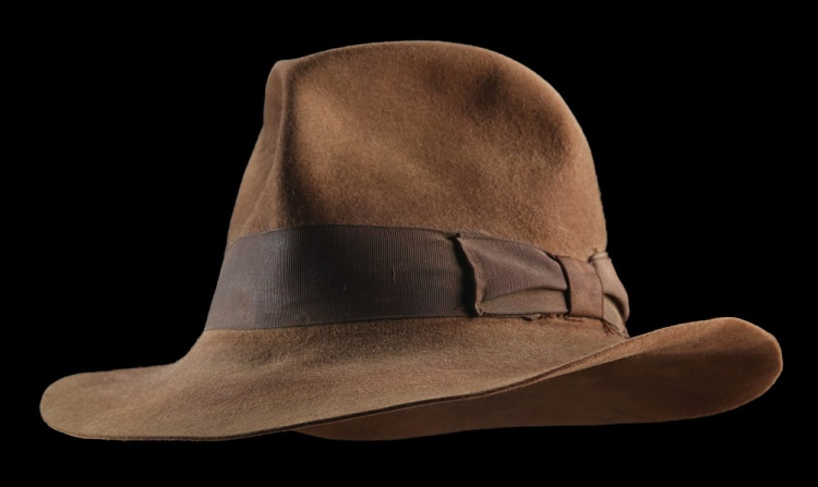 The Fedora was worn by Harrison Ford in some of the most iconic scenes in Raiders of the Lost Ark